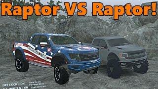 Spin Tires | Raptor VS Raptor Battle!