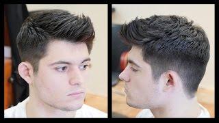getlinkyoutube.com-Men's Haircut Tutorial - Fohawk Haircut Fade - TheSalonGuy