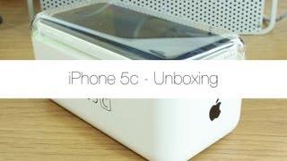 getlinkyoutube.com-iPhone 5c Unboxing (White)