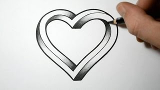 getlinkyoutube.com-How to Draw an Impossible Heart