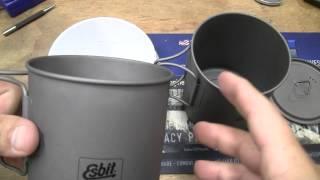 Esbit 750ml Ti Cooking Pot Epic Fail