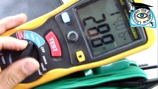 Terrômetro Digital Medição de Resistência de Aterramento Aula Completa