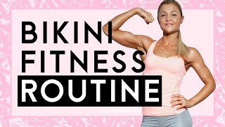 getlinkyoutube.com-Bikinifigur | Meine Fitnessroutine | Frühstückskuchen Tipps | Sophia Thiel