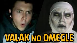 getlinkyoutube.com-VALAK ASSUSTANDO NO OMEGLE | Freira Invocação do Mal 2 (The Conjuring 2)