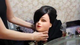 getlinkyoutube.com-Bride hair style ( party or bride )