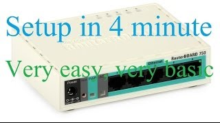 getlinkyoutube.com-Mikrotik Router Board first time setup less than 5 minute , very easy, very basic