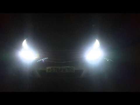 Nissan Teana J32 фары q5 style.