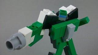 getlinkyoutube.com-(INSTRUCTIONS) - Lego Transfomers Quickstop