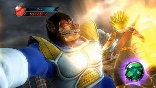 getlinkyoutube.com-Dragonball Z Ultimate Tenkaichi Mod - Trunks vs Great Ape Vegeta