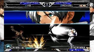 [Mugen - KOF] Kyo Kusanagi (可乐小虾米) vs. Sachiel (Rikard)