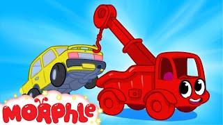 getlinkyoutube.com-My Red Tow Truck + Super Morphle Rewind --  My Magic Pet Morphle Episode #21