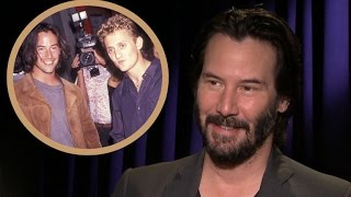 getlinkyoutube.com-EXCLUSIVE: Keanu Reeves Reveals 'Bill & Ted 3' Plot, Promises It's 'Bodacious and Heartwarming'