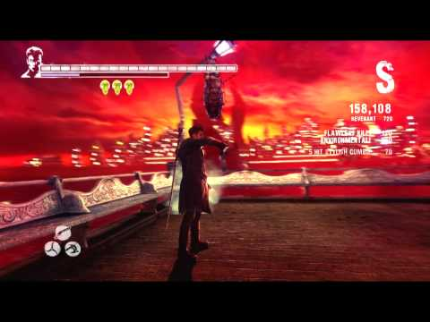 DmC No Damage, Hell and Hell Walkthrough - Mission 1