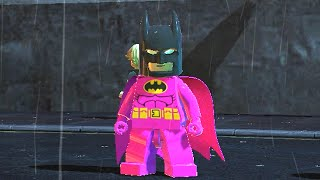 getlinkyoutube.com-LEGO BATMAN 2 - PINK BATMAN FREE ROAM GAMEPLAY