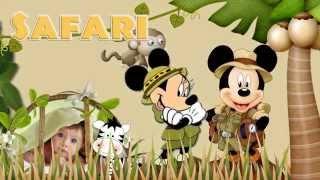 getlinkyoutube.com-Projeto proshow - Safari do mickey