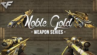 CrossFire China 2.0 : Noble Gold Weapon Series [Preview & Showcase]