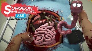 getlinkyoutube.com-Surgeon Simulator A&E: Anniversary Edition - Found a New Pet!!!