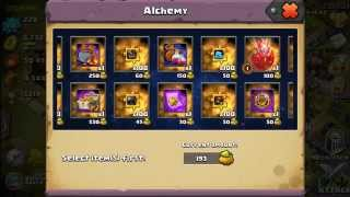 getlinkyoutube.com-Alchemy Workshop, how to maximize your magic Dust Clash of Lords 2
