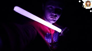 getlinkyoutube.com-How to Make a Lightsaber - (Easy Way)