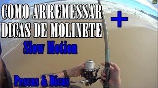 getlinkyoutube.com-Dica de arremesso e como usar o molinete em slow motion [PESCAS & DICAS]