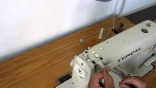 getlinkyoutube.com-طريقة لضم ماكينة الخياطة الانتاجية السريعة