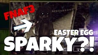 Sparky in five nights at freddy s 3 easter egg fnaf3 sparky the dog
