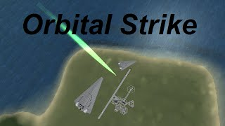getlinkyoutube.com-KSP - Orbital Strike - Space to Ground Lasers