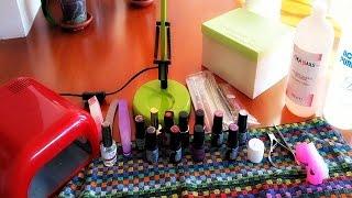 getlinkyoutube.com-Applicazione smalto SEMIPERMANENTE + semplicissima NAIL ART ♥  #Nails tutorial.