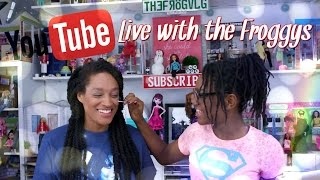 Weekly Live with the Froggys | SpacePop makeup PLUS Question &  Answer