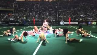 Arizona Rattlers Football Dancing Player