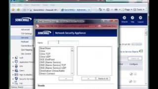 getlinkyoutube.com-Creating SonicWALL Firewall Rules