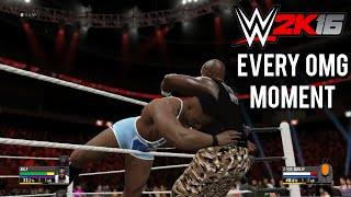 WWE 2K16 How to Perform Every OMG Moment (Tutorial)