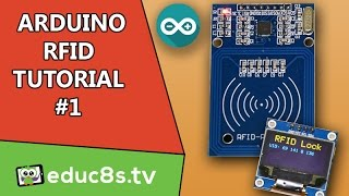 getlinkyoutube.com-Arduino Tutorial: RFID Tutorial RC522 with an Arduino Uno and an OLED display from Banggood.com