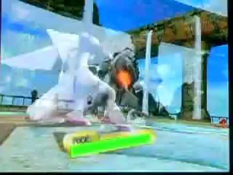Pokemon Battle Revolution: Waterfall Battle