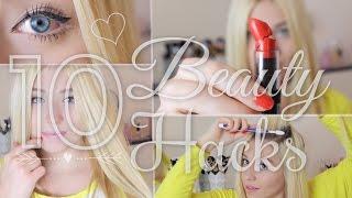 getlinkyoutube.com-10 easy BEAUTY HACKS  mit großer Wirkung ♥ BibisBeautyPalace