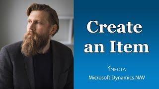 getlinkyoutube.com-01 - How to create an Item in Microsoft Dynamics NAV 2015