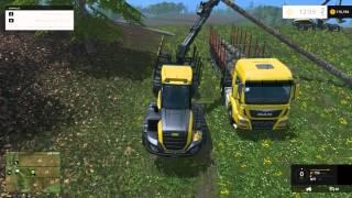 getlinkyoutube.com-Farming Simulator 2015 - Silvicultura (Gameplay/Dinheiro Fácil)