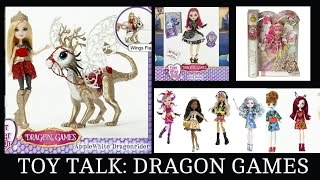 getlinkyoutube.com-Toy Talk-Ever After High Dragon Games,Monster High Great Scarrier Reef,C.A. Cupid Heartstruck