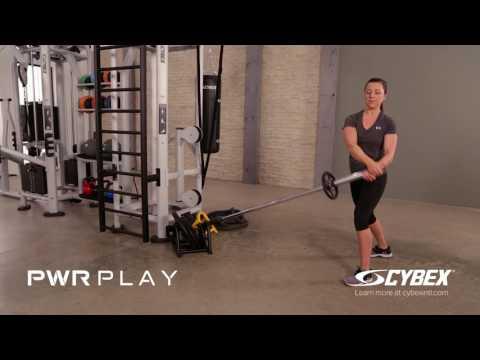 Cybex PWR PLAY - Power Pivot Russian Twist