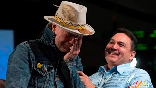 Emotional Gord Downie honoured by AFN width=