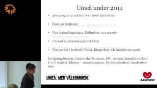 Anna Wikholm, Visit Umeå