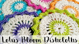 getlinkyoutube.com-Episode 161: How to Crochet the Lotus Bloom Dishcloths
