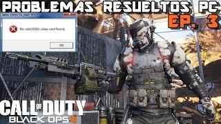 getlinkyoutube.com-No Valid DX11 video card found/Call of Duty Black Ops III/Episodio 3
