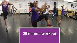 20 minute, follow along bhangra workout