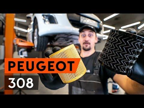 Расположение у Peugeot 308 масляного насоса