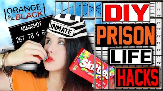 getlinkyoutube.com-14 DIY PRISON Life Hacks! | Use In Your Daily Life! | Jail House Hacks That REALLY Work!