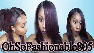 getlinkyoutube.com-Freetress Equal L Part: Jannie - another WINNER!!! + How to Style Her