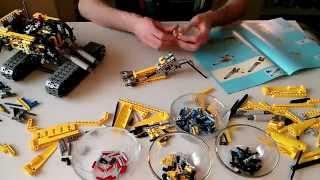 getlinkyoutube.com-Lego Technic 8043 - Motorized Excavator (Timelapse)
