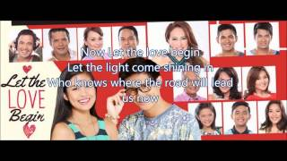 Gabbi Garcia & Ruru Madrid - Let the Love Begin (With Lyrics)