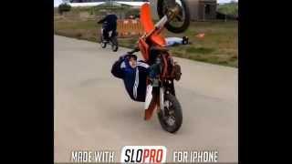 getlinkyoutube.com-Uk bikelife bikelife uk legends insta clips yamaha blaster yz 85 crf450 wheelie stunt fails @kyle_uk